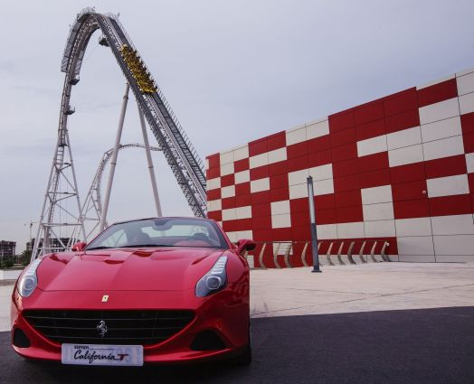 Abu Dhabi Uae Ferrari World S Flying Aces Open To Guests News Euroamusement Professional