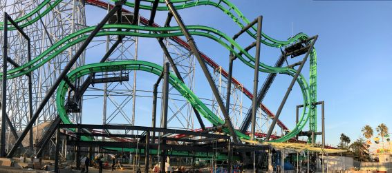 """USA/Japan: S&S Delivers First """"4D Free Spin Coaster"""" to Asia"""