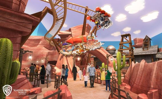 "UAE: Warner Bros  World Abu Presents ""Bedrock"" & ""Dynamite"
